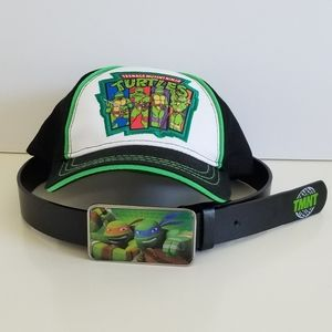 Teenage Mutant Ninja Turtle hat and belt